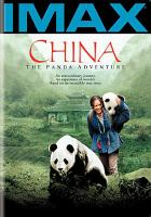 Cover image for China the panda adventure