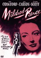 Cover image for Mildred Pierce (Joan Crawford version)