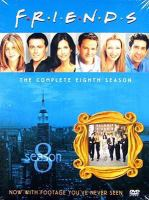 Cover image for Friends. Season 08, Complete