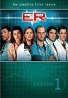 Cover image for ER. Season 1, Disc 1
