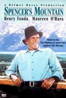 Cover image for Spencer's Mountain
