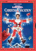 Cover image for National Lampoon's Christmas vacation