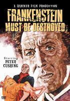 Imagen de portada para Frankenstein must be destroyed