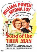 Cover image for Song of the thin man