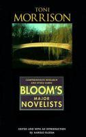 Cover image for Toni Morrison : Bloom's major novelists series