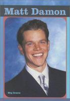 Cover image for Matt Damon