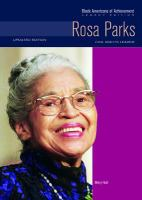 Cover image for Rosa Parks : civil rights leader