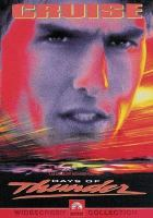 Imagen de portada para Days of thunder [videorecording DVD]