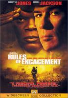 Imagen de portada para Rules of engagement [videorecording DVD] : a hero should never have to stand alone