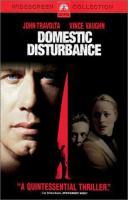 Cover image for Domestic disturbance