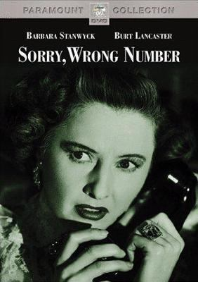 Cover image for Sorry, wrong number [videorecording DVD]