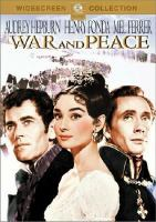 Cover image for War and peace
