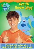 Cover image for Blue's clues. Get to know Joe!