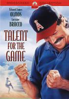 Cover image for Talent for the game