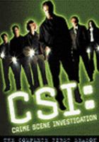 Cover image for CSI. Season 01, Complete [videorecording DVD] : Crime scene investigation