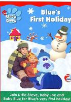 Cover image for Blue's clues. Blue's first holiday