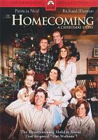 Cover image for The homecoming a Christmas story
