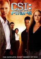 Cover image for CSI: Miami. Season 1, Complete