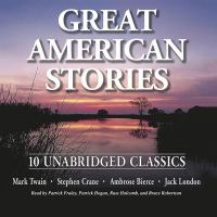 Cover image for Great American stories [sound recording CD]