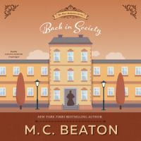 Cover image for Back in society. bk. 6 [sound recording CD] : Poor relation series