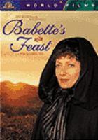Imagen de portada para Babette's feast
