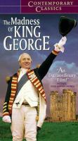 Cover image for The madness of King George