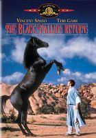 Cover image for The Black stallion returns
