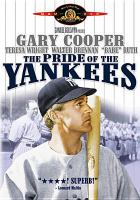 Cover image for The pride of the Yankees