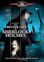 Cover image for The private life of Sherlock Holmes [videorecording DVD]