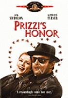 Cover image for Prizzi's honor [videorecording DVD]