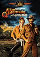 Cover image for Allan Quatermain and the lost city of gold
