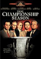 Cover image for That championship season [videorecording DVD]