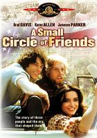 Cover image for A small circle of friends