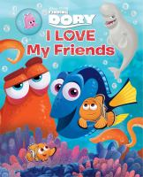 Cover image for I love my friends [board books]