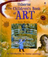 Imagen de portada para The Usborne children's book of art