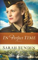 Cover image for In perfect time. bk. 3 : Wings of the nightingale series