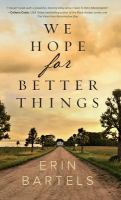 Cover image for We hope for better things
