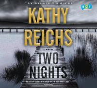 Cover image for Two nights [sound recording CD] : a novel