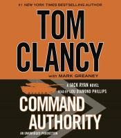 Cover image for Command authority. bk. 16 Jack Ryan series