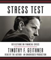 Cover image for Stress test [sound recording CD] : reflections on financial crises