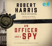 Cover image for An officer and a spy