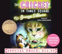 Cover image for The cricket in Times Square