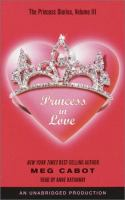 Cover image for Princess in love, Book 3 The princess diaries