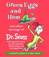 Cover image for Green eggs and ham and other servings of Dr. Seuss