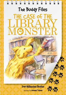 Cover image for The Buddy files. bk. 5 : the case of the library monster