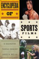 Cover image for Encyclopedia of sports films