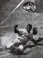 Cover image for Jackie Robinson : an intimate portrait