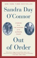 Cover image for Out of order stories from the history of the Supreme Court