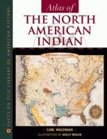 Cover image for Atlas of the North American Indian