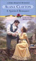 Cover image for A spirited romance